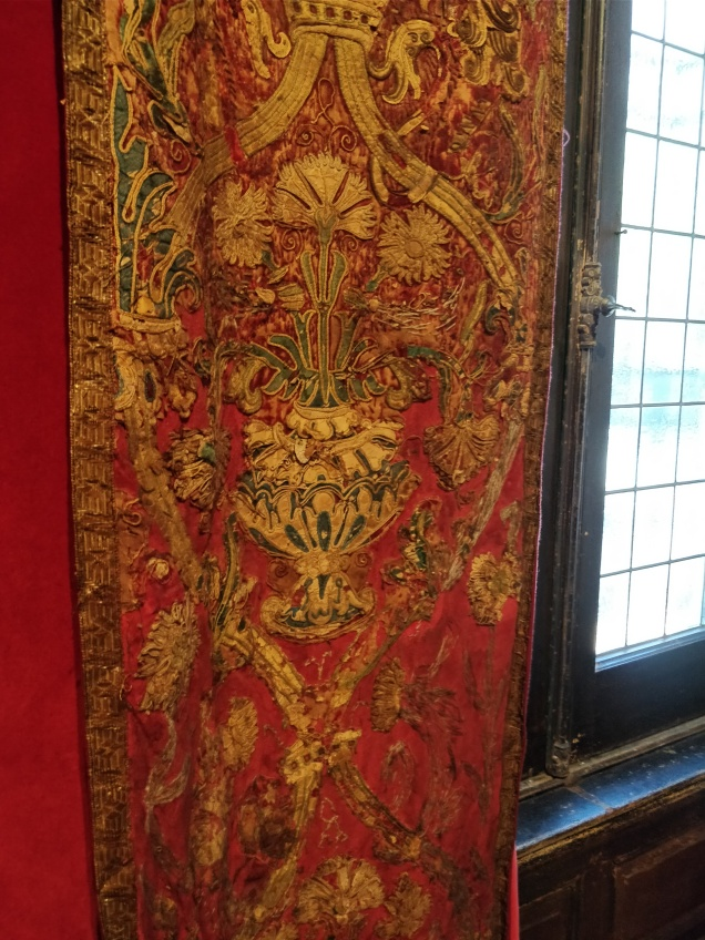 How do you even buy Baroque cathedral curtains? Are there cathedral rummage sales?
